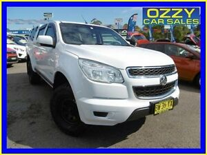2013 Holden Colorado RG LX (4x2) White 6 Speed Automatic Crew Cab P/Up Penrith Penrith Area Preview