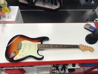 Fender classic 60's stratocaster sunburst mint condition with carry case.