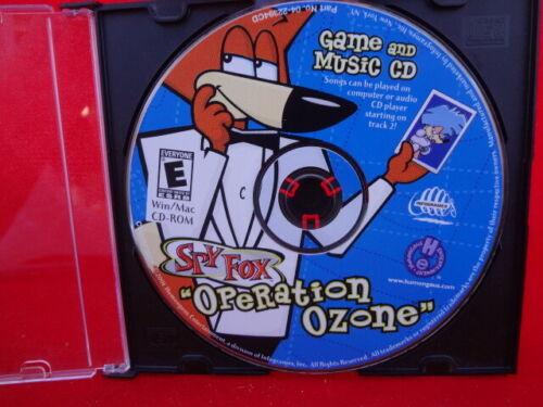 "Spy Fox ""Operation Ozone"" Game and Music CD. Win/Mac CD-ROM"