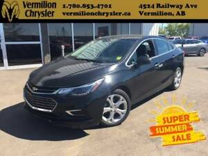 2017 Chevrolet Cruze Premier Auto, Heated Leather, Sunroof,