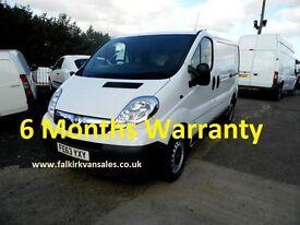 Vauxhall Vivaro 2.9T 2.0 CDTI 115 LWB