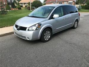 2006 NISSAN QUEST , 7 PASSAGES ,AUTOMATIQUE , AC, PAS DE ROUILLE