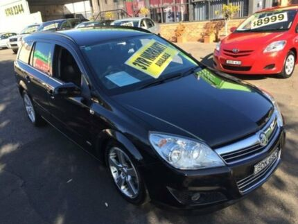 2007 Holden Astra AH MY07 CDX Black 4 Speed Automatic Wagon Lidcombe Auburn Area Preview