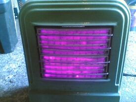 Antique vintage art deco electric heater