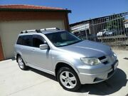 2006 Mitsubishi Outlander ZF MY06 VR Silver 4 Speed Sports Automatic Wagon Mount Lawley Stirling Area Preview