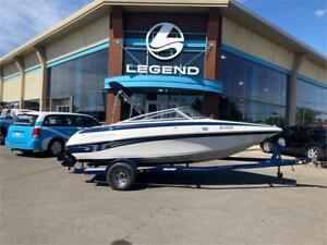 Crownline 180 2008 + Mercruiser 4.3L Alpha One + Remorque