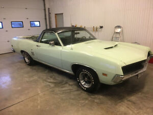 1971 Ford Ranchero GT, fresh tune up ready to drive