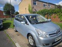 DURABLE AND LOVELY TOYOTA COROLLA VERSO FOR SALE