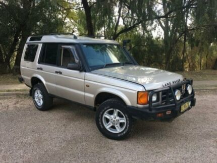 2001 Land Rover Discovery TD5 (4x4) Silver 5 Speed Manual 4x4 Wagon
