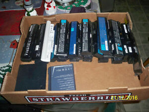 LOTS USED NOTEBOOK, NETBOOK BATTERIES FOR SALE