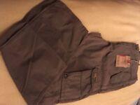 Mens Trousers 34 waist - brand new