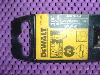 Dewalt Dw5416 Size 14 X 4 X 2 Hammer Masonry Drill Sds Plus New 4tg17