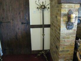 Brass coat rack