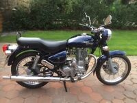 Royal Enfield Bullet 500 Electra only 3685 miles 2008 Reg 5 speed