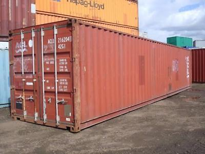 Used Shipping Container 40ft Hc 2249 Detroit Mi
