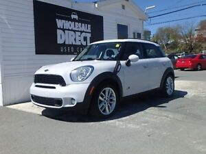 2012 MINI Cooper S HATCHBACK COUNTRYMAN ALL4 6 SPEED Twin Scroll