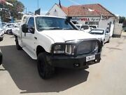 2005 Ford F250 RN XLT Super Cab White 4 Speed Automatic Utility Gepps Cross Port Adelaide Area Preview