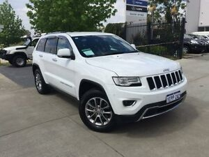 2014 Jeep Grand Cherokee WK MY15 Limited (4x4) White 8 Speed Automatic Wagon Beckenham Gosnells Area Preview