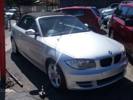 2008 BMW 120i 120I 120I Silver Convertible