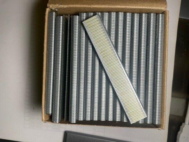 "Senco K10BABN 1/4"" Crown 5/8"" Leg Galvanized 10,000 pcs Made In U.S.A"