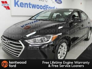2017 Hyundai Elantra Elantra FWD with heated seats. black on bla