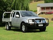 2012 Nissan Navara D40 S7 MY12 RX King Cab Silver 6 Speed Manual Cab Chassis Hahndorf Mount Barker Area Preview