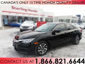 2016 Honda Civic Sedan EX | 1 OWNER | HONDA PLUS WARRANTY