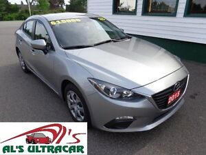2015 Mazda3 GX w/ power package & winter tires on rims!