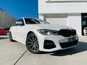 2019 BMW 3 Series G20 320i Steptronic M Sport White 8 Speed Sports Automatic Sedan Southport Gold Coast City Preview