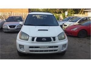 2003 TOYOTA RAV4 AUTOMATIC CHILLI EDITION ETESTED SAFETY