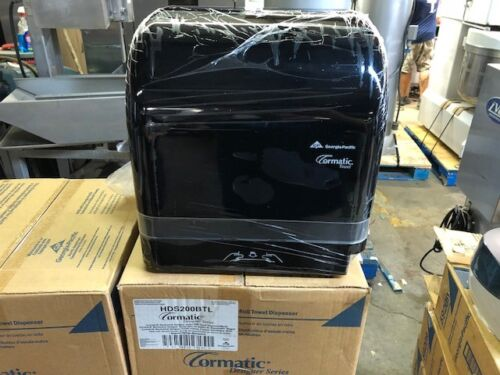 GP Cormatic HDS200BTL Designer Automatic Black Hanging Paper Towel Dispenser