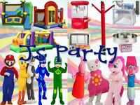 Entertainment or rental for all your kids party needs!