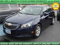 2011 Chevrolet Cruze LT Sedan with SUNROOF/MOONROOF