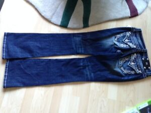 miss me jeans size 29 inseam  34