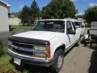 1997 Chevrolet 1500 4x4 xcab Pickup Truck- PARTING OUT