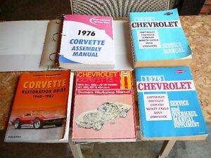 Automotive service manuals