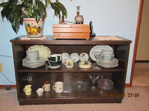 China, trophy cabinet. Display case