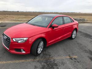 Audi A3 2017 (Transfert de bail 25 mois)