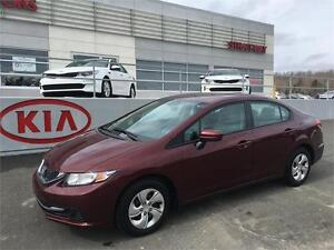 2014 Honda Civic LX WAS $17,900 - THIS WEEKS SPECIAL $15,900