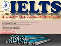 IELTS/CELPIP/CELBAN/SPOKEN ENG-GUARANTEED BANDS (4,5,6, 7,8,9)