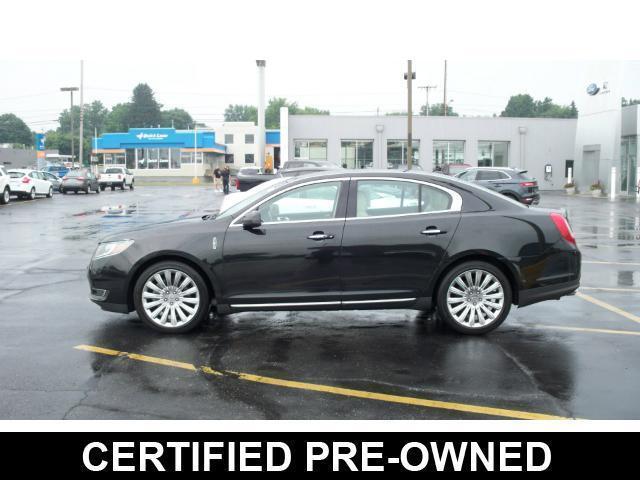 2013 Lincoln MKS AWD 3.7L Certified NAV BLINDSPOT THX-II DUAL PANEL MOONROOF
