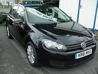 2012 VOLKSWAGEN GOLF 1.6 TDi 105 BlueMotion Tech Match SAT NAV