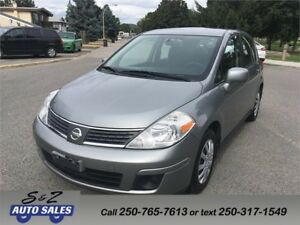 2008 Nissan Versa LOW KM!