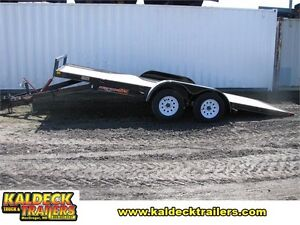 H&H 8.5' x 18' MX Manual Tilt Bed Trailer
