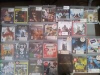 PS3 + more than 20 games.