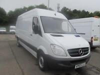Mercedes-Benz Sprinter 313 CDi LWB High Roof 3.5T Van DIESEL MANUAL WHITE (2013)