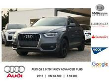 Audi Q3 2.0 TDI 140CV Advanced Plus
