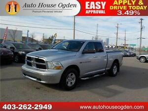 2011 DODGE RAM 1500 SLT 4X4 TONNEAU COVER REMOTE START