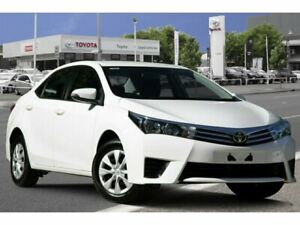 2016 Toyota Corolla ZRE172R Ascent S-CVT Glacier White 7 Speed Constant Variable Sedan Adelaide CBD Adelaide City Preview