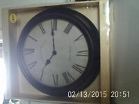 BN&B - Large Wall Clock from Morrisons - Excel Cond.